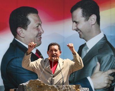 Hugo Chávez and Bashar al-Assad