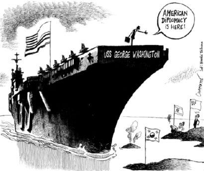 american diplomacy is here