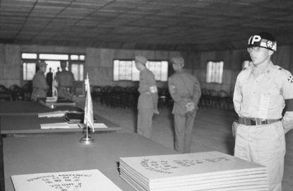 Korean War Armistice Agreement Korean Armistice Agreement