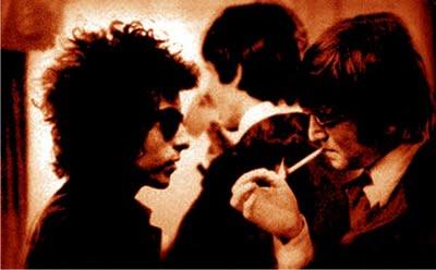 Bob Dylan With John Lennon And Paul McCartney