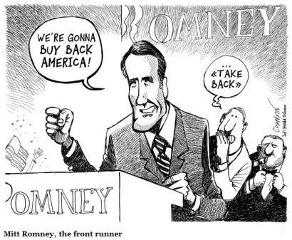 romney buy back america political cartoon