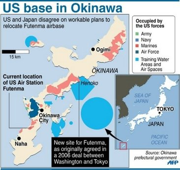 Japanese Outraged By US Diplomats Unbelievable Act Of - Us military bases in okinawa map
