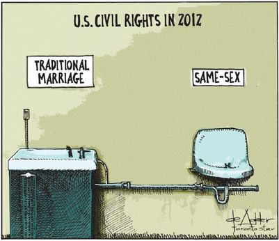 from Ernest gay marriage not a civil right